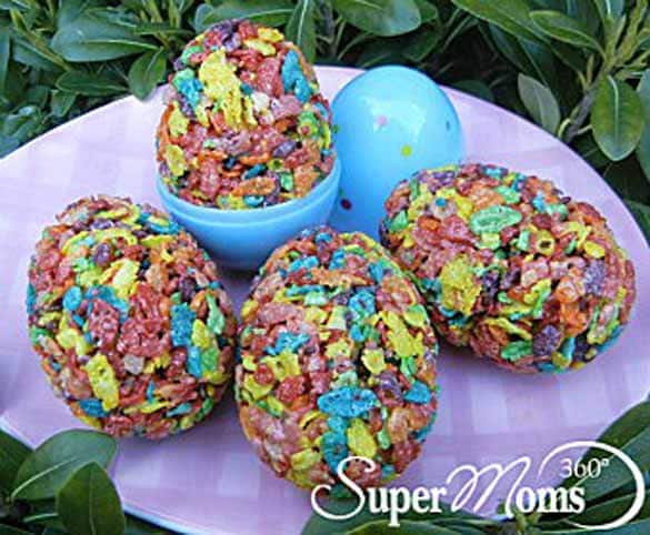 25 Fun And Festive Easter Treat Ideas Eggceptional Cereal Treats