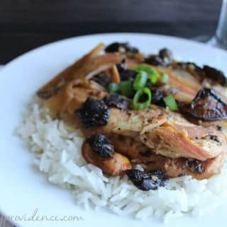 Easy slow-cooker Polynesian chicken!