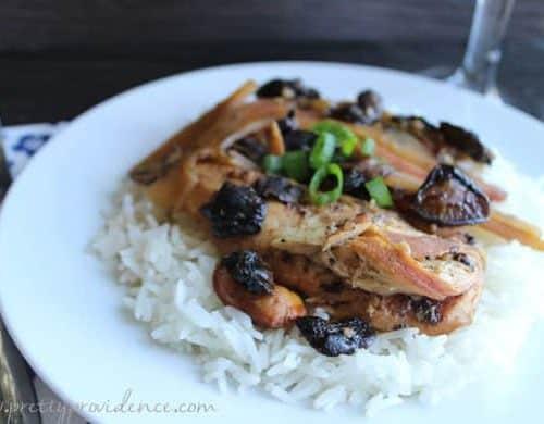 Easy Slow Cooker Polynesian Chicken
