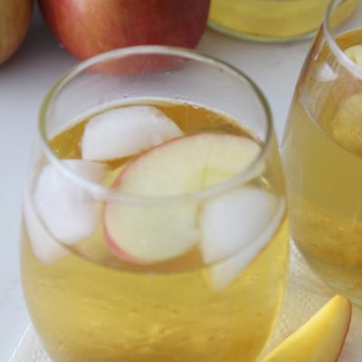 Homemade sparkling cider is a staple of ours at all holiday parties, or really any special get together! SO easy to throw together, and SO good!