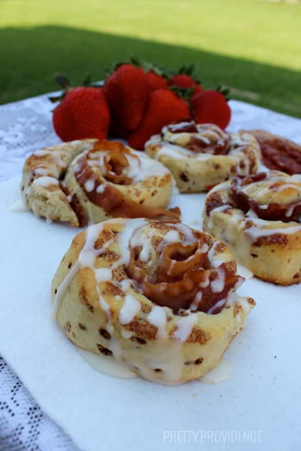 bacon cinnamon rolls!