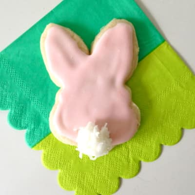Bunny Tail Cookie