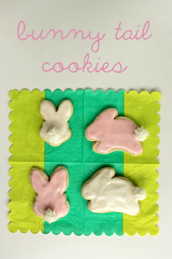 Bunny Tail Cookies for Easter