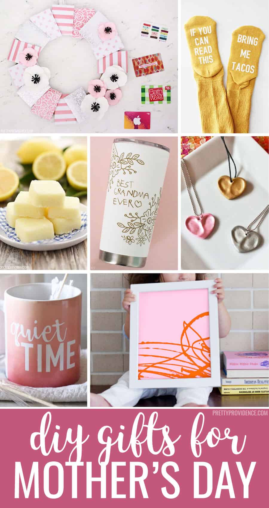 Easy DIY Mother's Day Gift Ideas - Pretty Providence