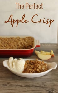 The perfect apple crisp!
