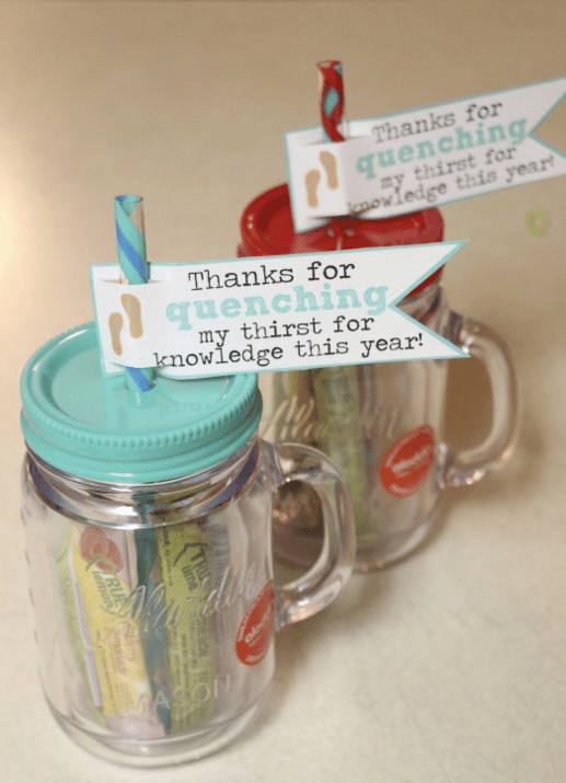 Free End of Year Teacher Gift Printable