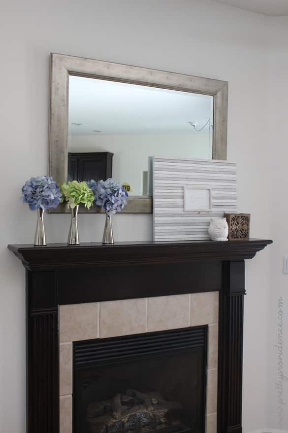 Classic and affordable mantle update!