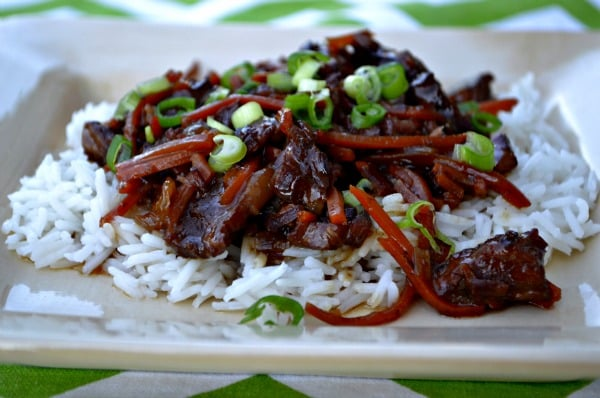 freezer crockpot mongolian beef @ onceamonthmeals.com