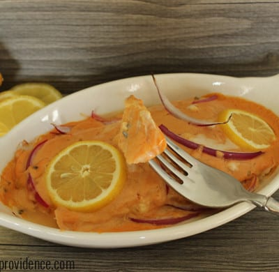 Easy and delicious salmon island salmon!