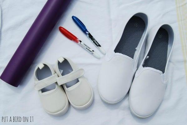 DIY patriotic shoes6