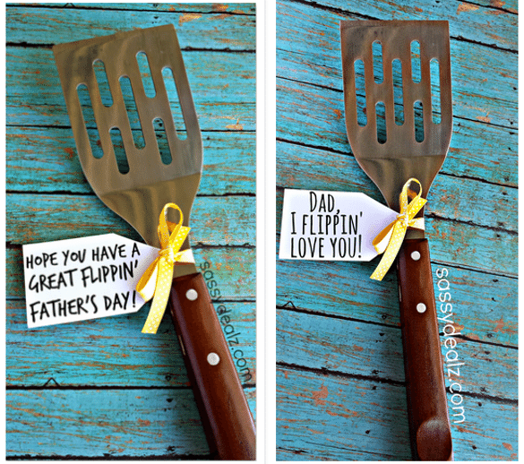 Flippin' spatula Father's Day gift