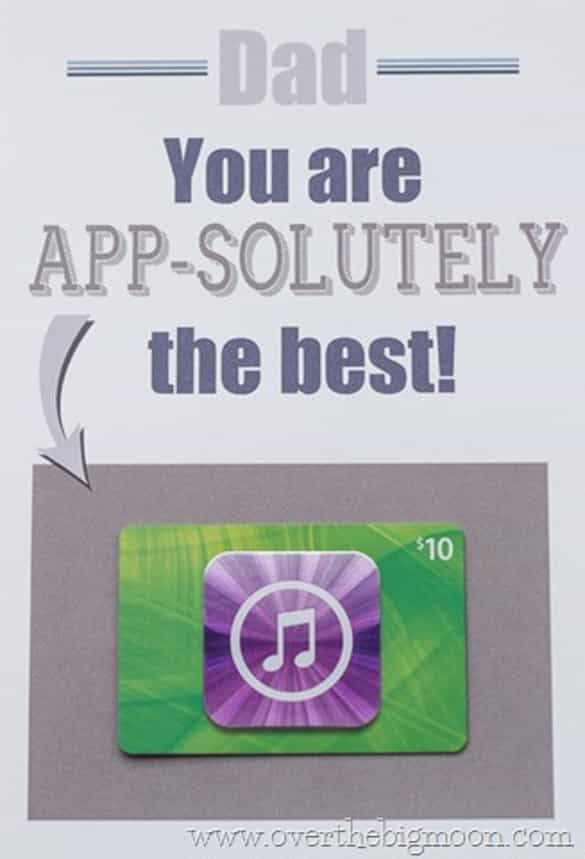 App-solutely | 12 Easy Father's Day gift ideas