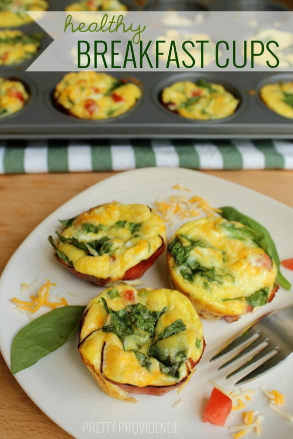Healthy Breakfast Cups