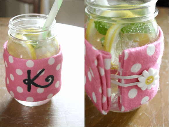 DIY // {almost} No Sew Felt Coozie