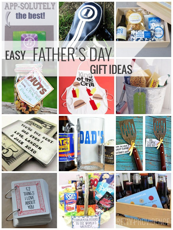 Easy + Fun Father's Day Gift Ideas