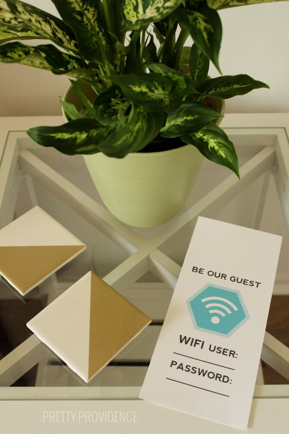 Free Guest Wifi Card Printable