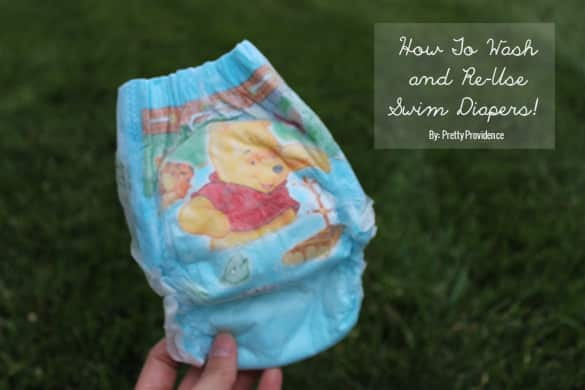 How to Wash and Easily Re-Use Swim Diapers!