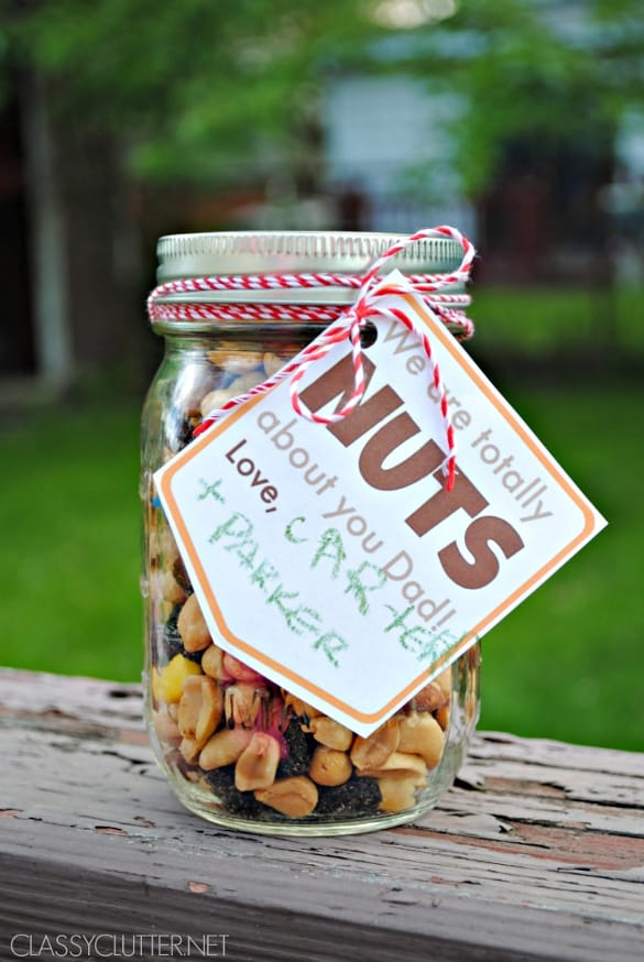 Nuts About You, Dad | 12 Easy Father's Day gift ideas