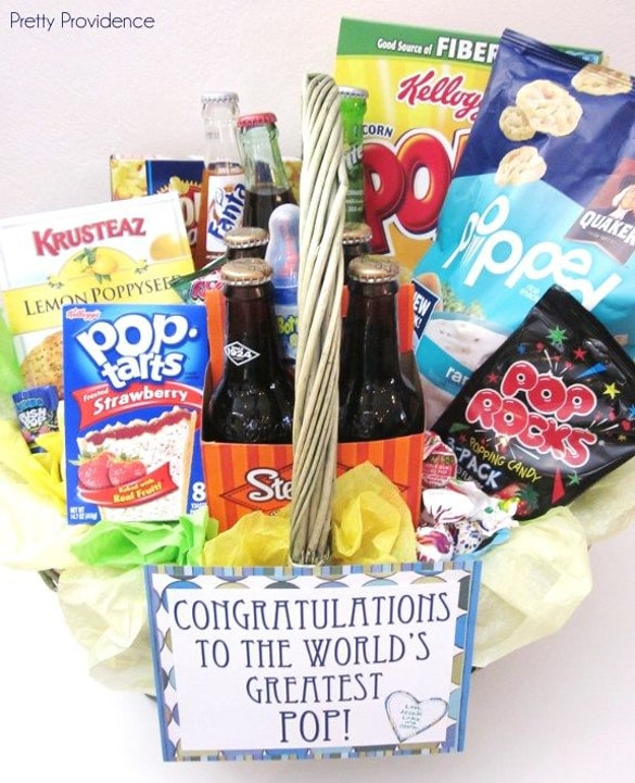 """""""Pop"""" Gift Basket 