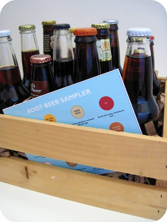Root Beer Sampler | 12 Easy Father's Day gift ideas