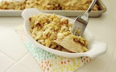 Yum! Chicken and Stuffing Bake!
