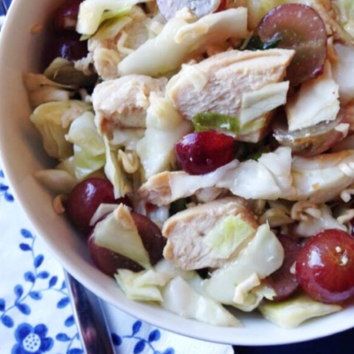 Easy Chinese Chicken Salad!