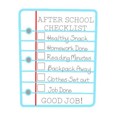 after-school-checklist