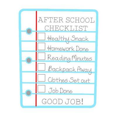 after-school-checklist