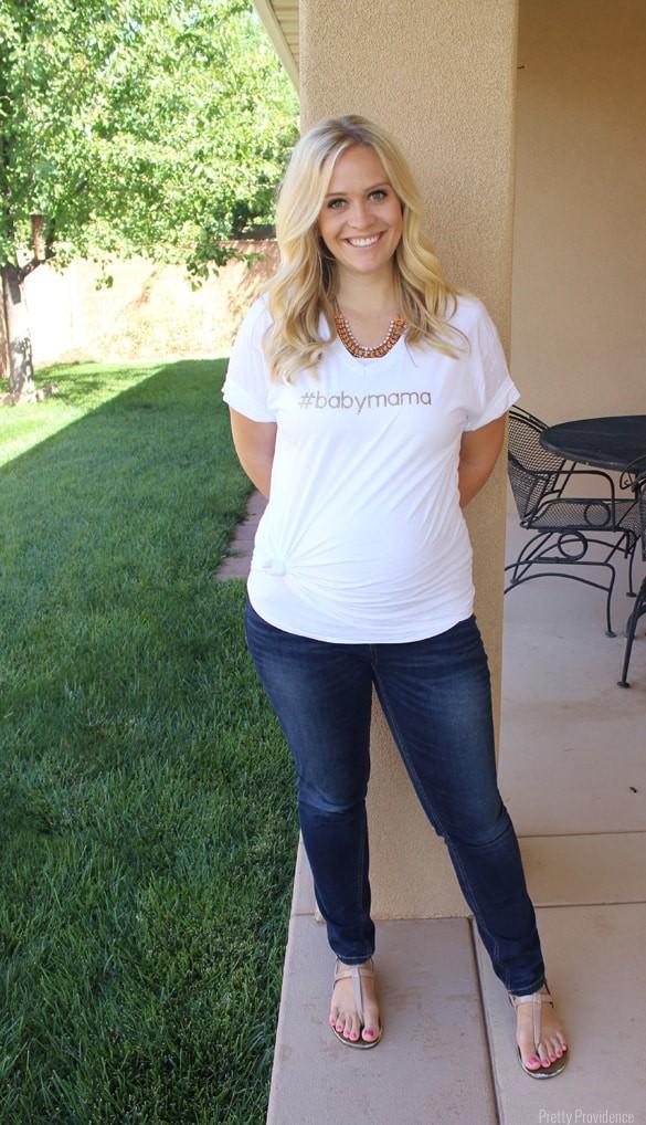 Super easy DIY #hashtag t-shirts! Make it say whatever you want! Fun girls night idea..