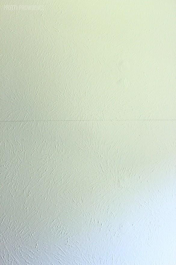 DIY Two-Tone Wall