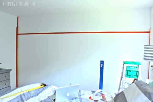 DIY Two-Tone Wall with FrogTape Textured Surface