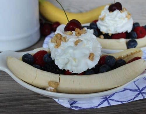 Skinny Banana Splits
