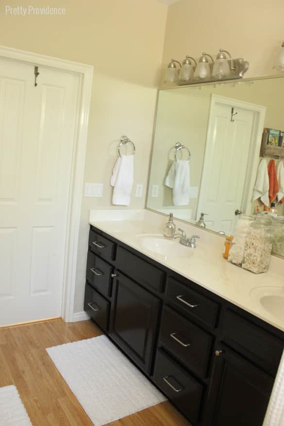 Bright, clean and mature master bathroom reveal!