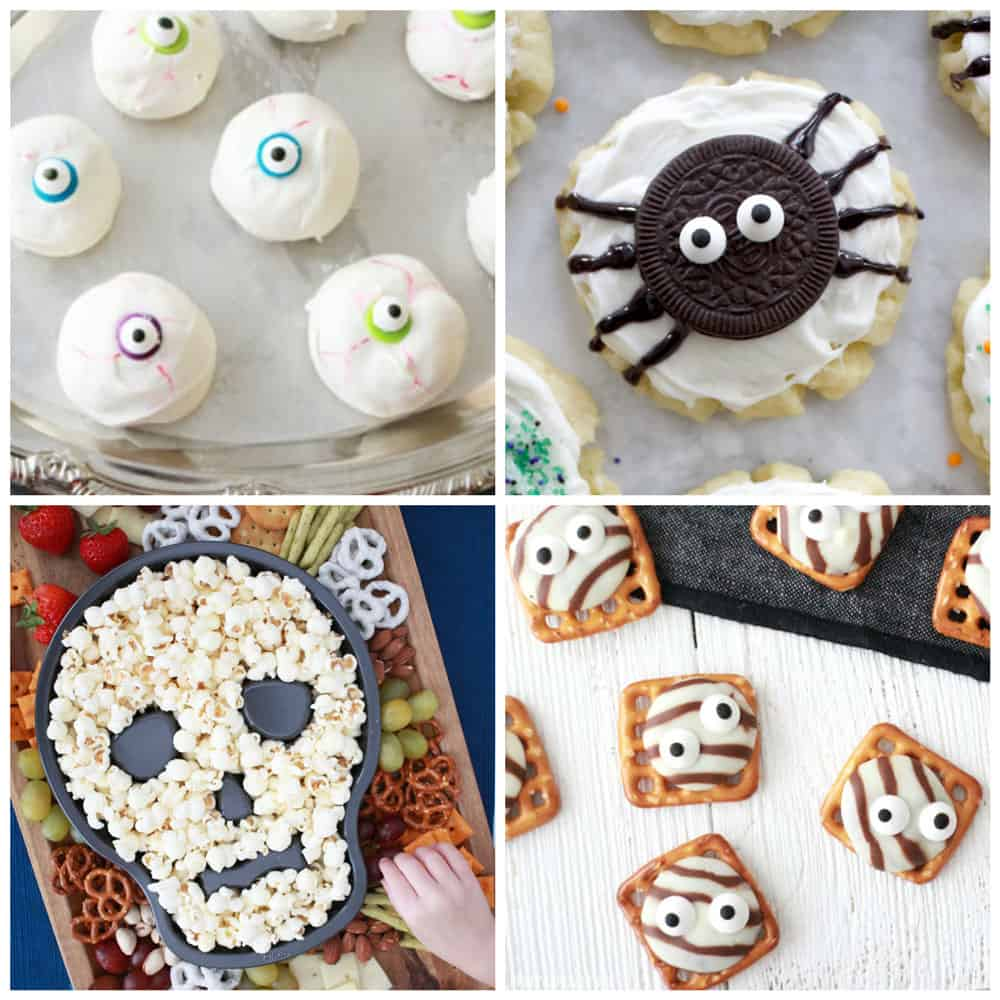 easy halloween treat recipes - pretty providence