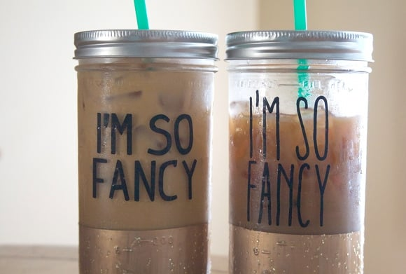 "DIY ""Fancy"" Tumbler."