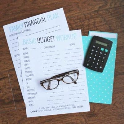 Basic Budgeting with Free Worksheets!