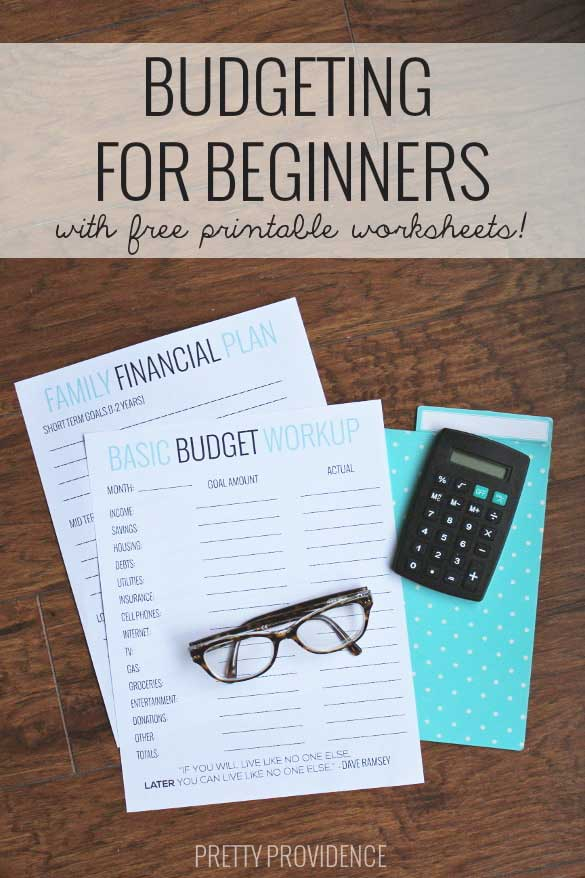 Printables Budgeting For Dummies Worksheet basic budgeting with free worksheets to get you started beginners