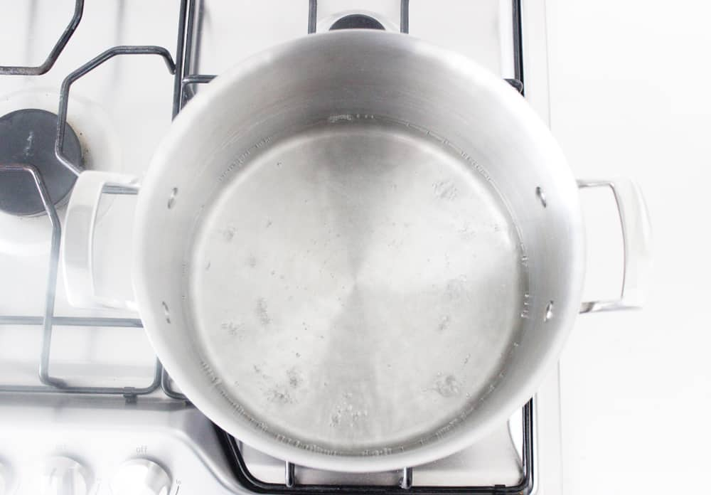 Boiling water to make liquid laundry detergent!