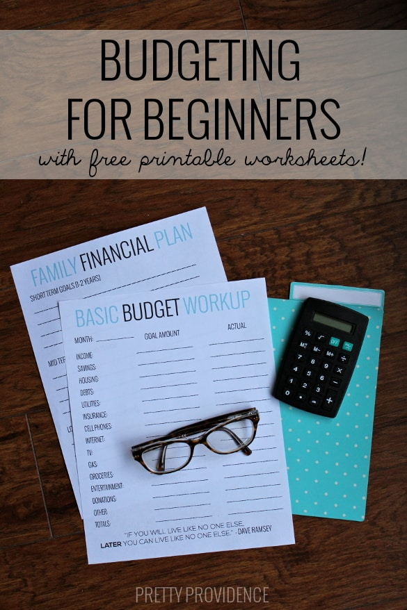 Printables Budgeting For Dummies Worksheet basic budgeting with free worksheets to get you started help going easy way started