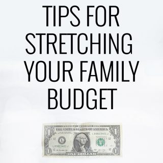 Some really great ideas and reminders in here for stretching your family budget!