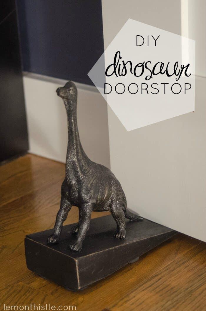 DIY DINO DOORSTOP
