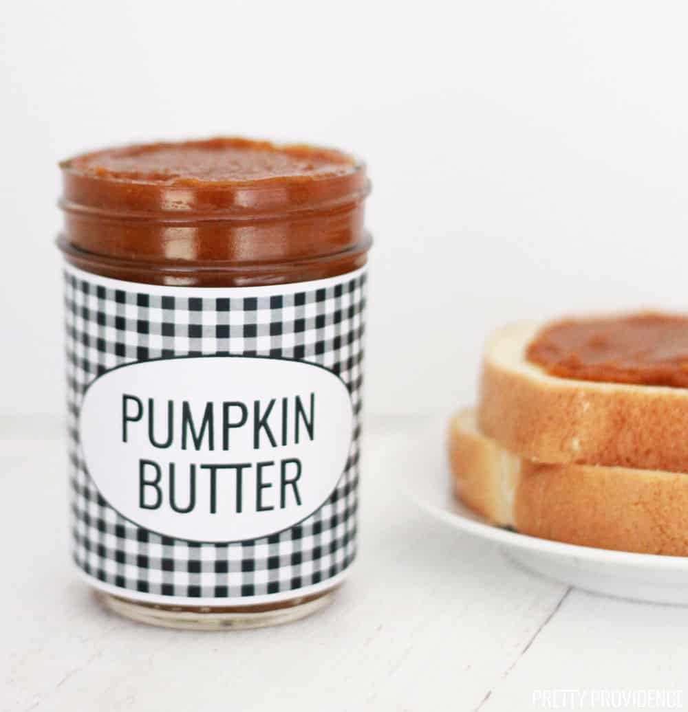 This homemade pumpkin butter in the slow cooker is so easy and so good!