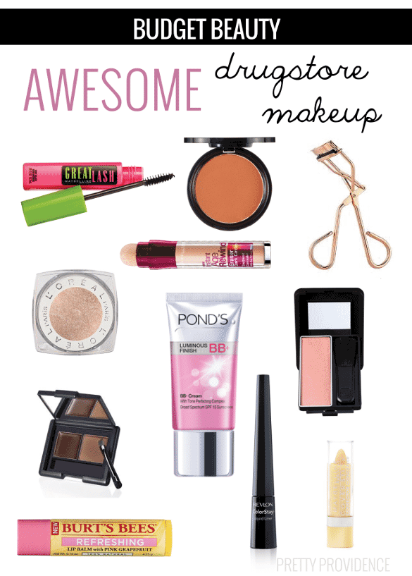 Budget Beauty: Drugstore Makeup Faves