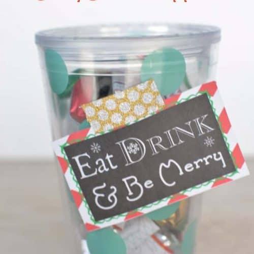 Christmas Gift Idea & Free Printables
