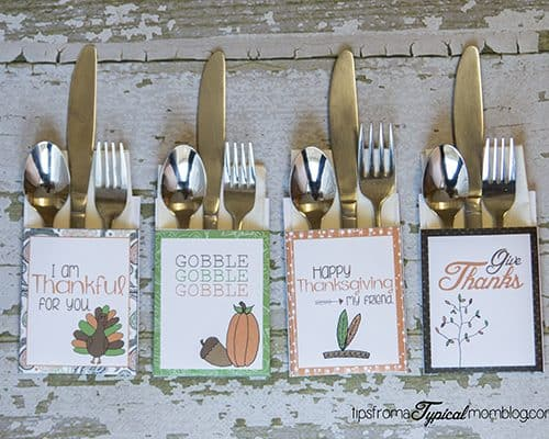 Free Thanksgiving Dinner Printables