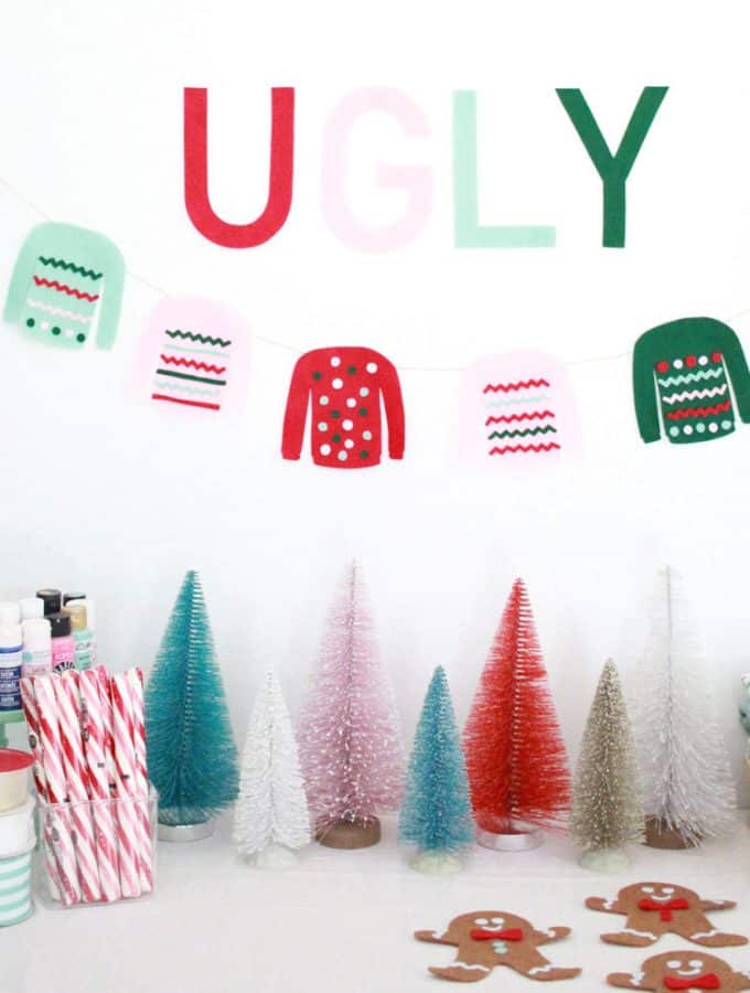 How To Throw An Ugly Sweater Making Party