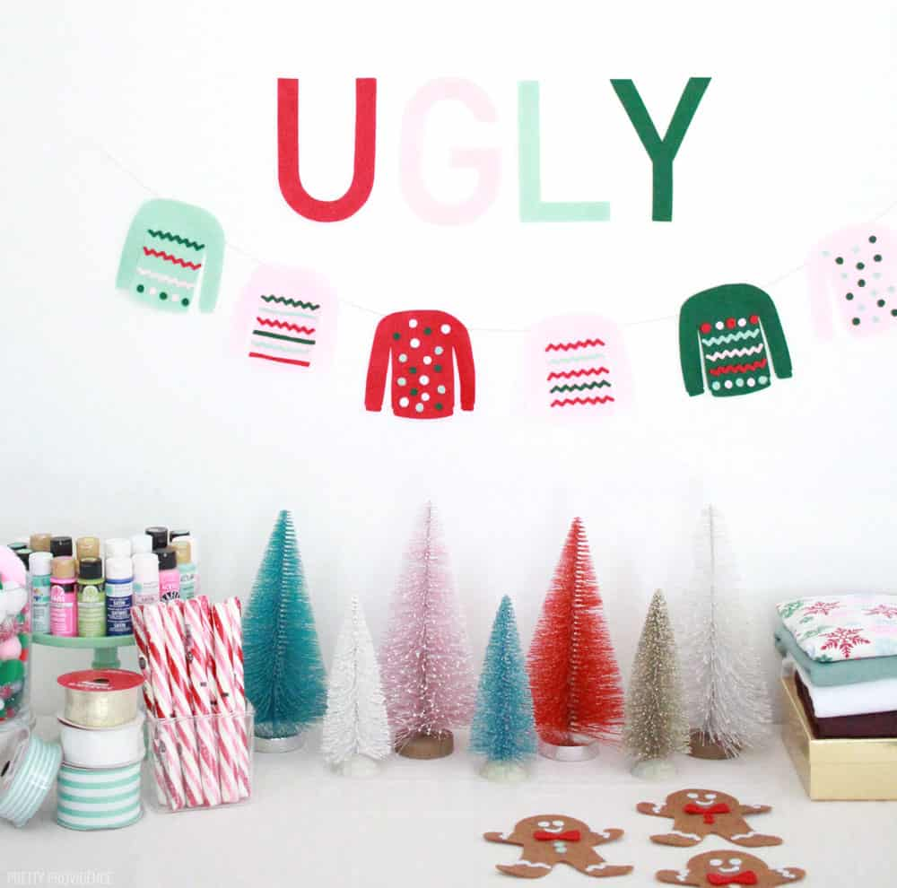 Ugly Sweater Party Idea - Make your own tacky sweater!