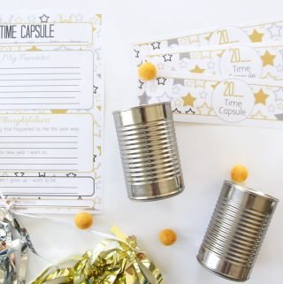 2014 Time Capsule for Kids