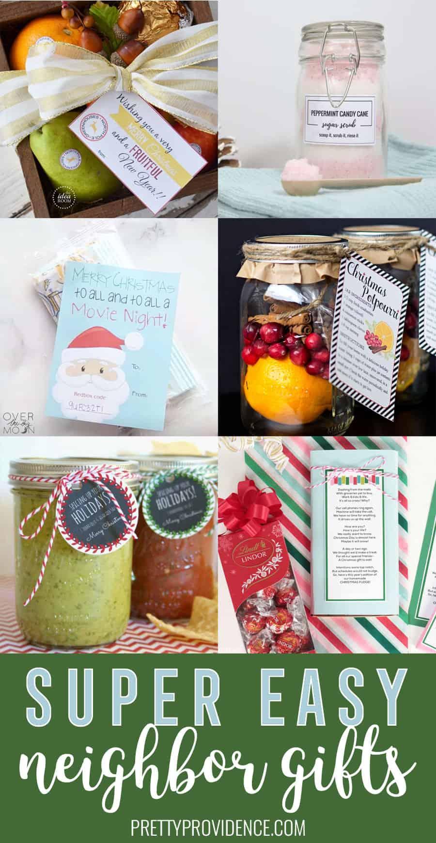Super Easy Neighbor Gift Ideas