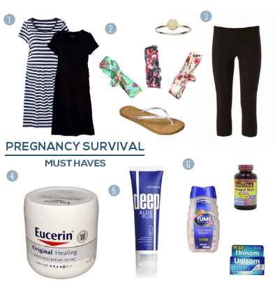 Pregnancy Survival Must Haves